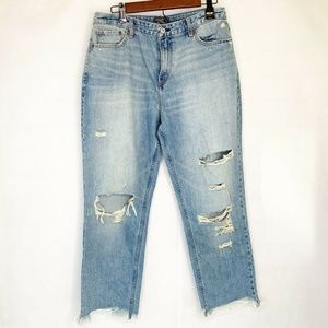 Abercrombie & Fitch Womens Annie Girlfriend Jeans